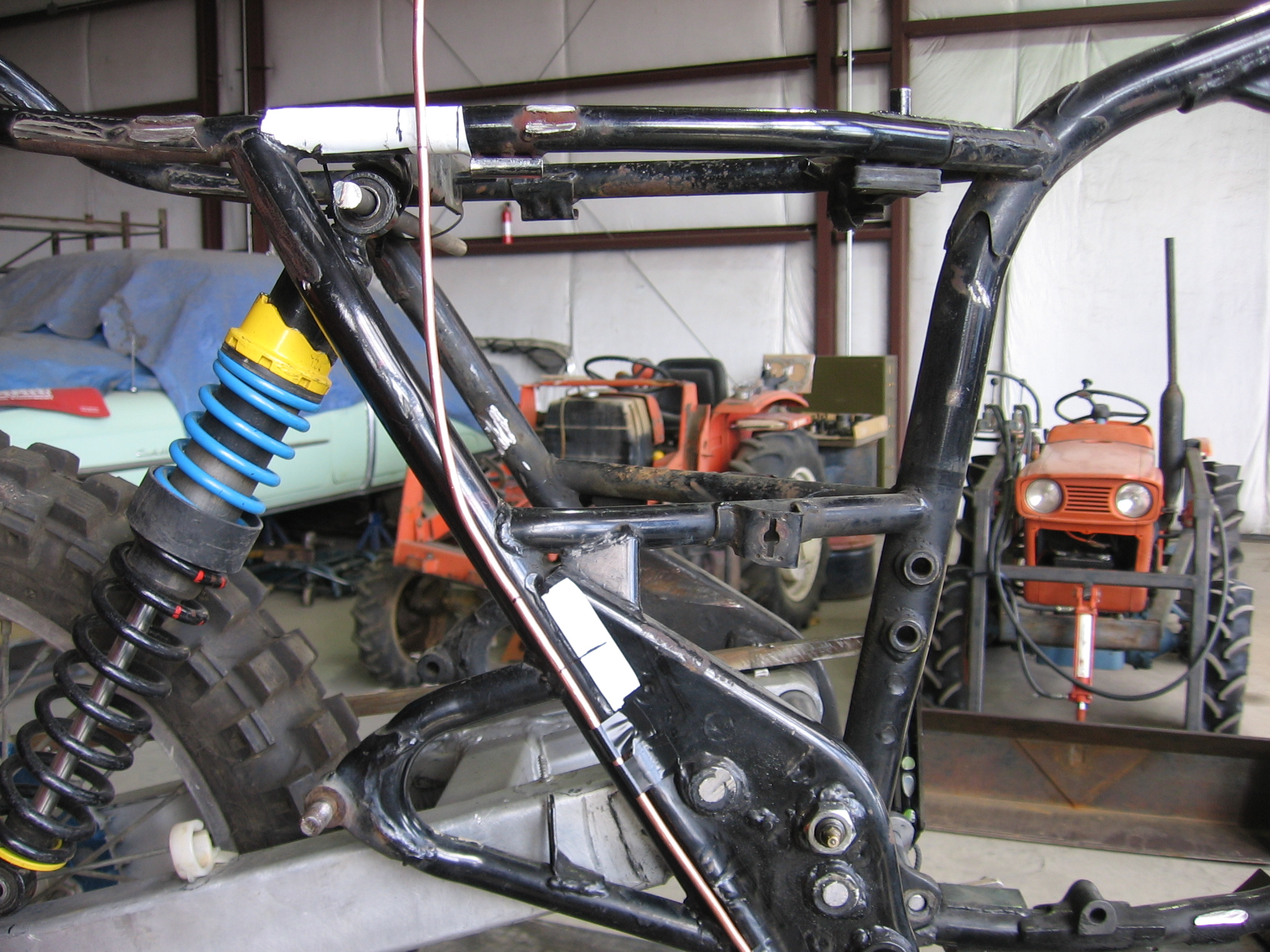 Kestrel Design Alpinas Gss Projects Xs Xs650 Wiring Harness Routing New Subframe Template